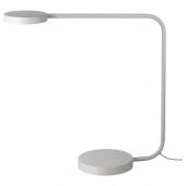 ЮППЕРЛИГ Настольная лампа, светодиодная,светло-серый